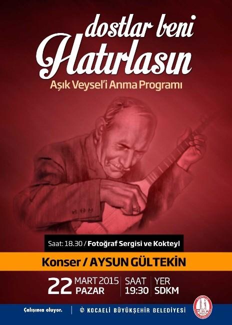 Aşık Veysel Vefatının 42. Yılında Türküleriyle Anılacak