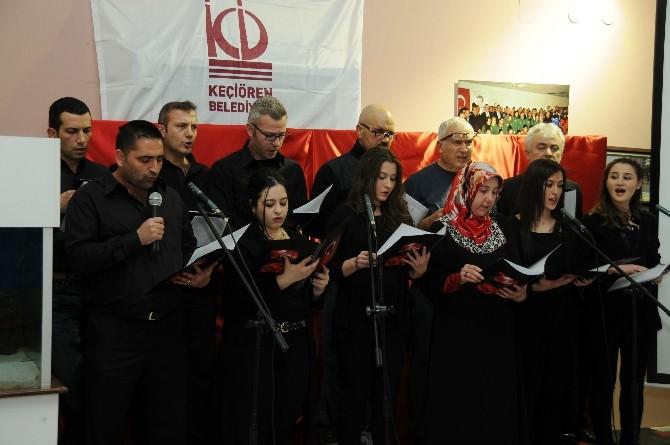 Keçiören'de Çanakkale Oratoryosu