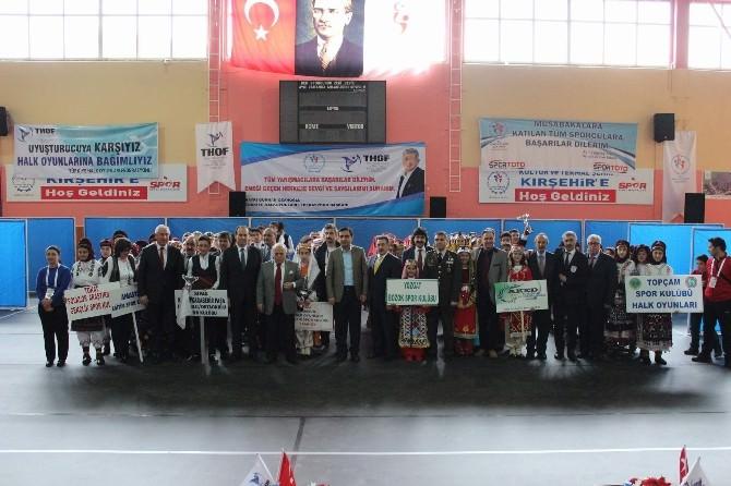 Kırşehir'de Halk Oyunları Yarışmaları Başladı