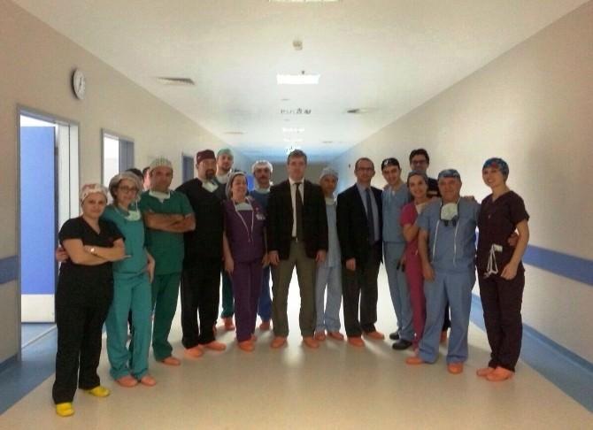 Çorlu Devlet Hastanesi'nde İlk Koroner Bypass Ameliyatı Yapıldı