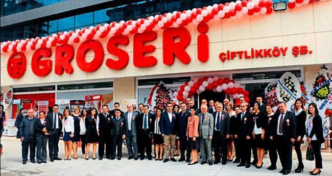 22'inci Groseri Çiftlikköy'de açıldı