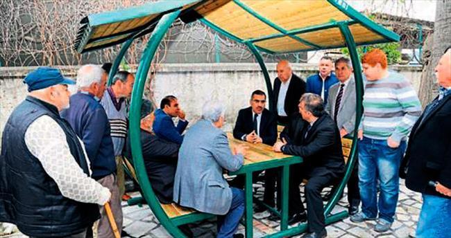 Başkan Çelikcan vatandaşla buluştu