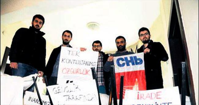 CHP Trabzon'da işgal eylemi altıncı gününde