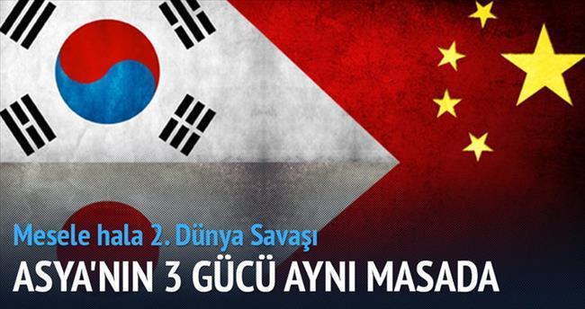 Asya'nın üç gücü yıllar sonra masada