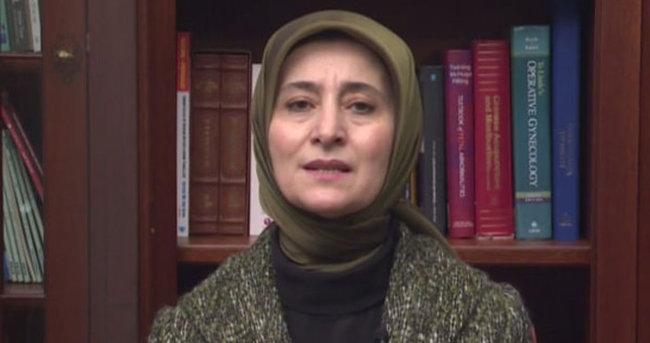 Sare Davutoğlu'ndan destek