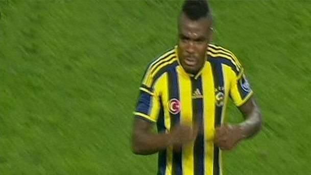 Fenerbahçe Beşiktaş derbisinde 'Emenike' tepkisi