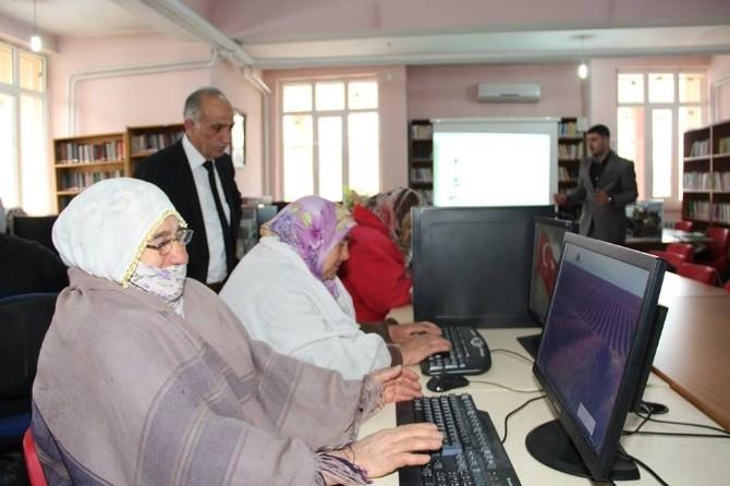 Oltu'da Kütüphane Türkiye Projesi