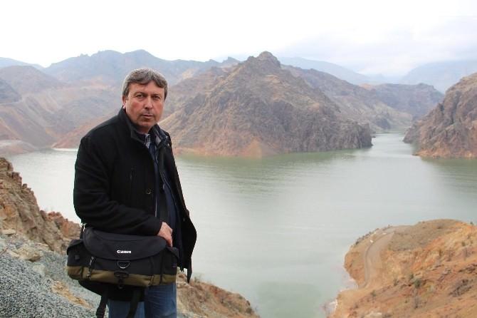 Ayvalı Barajında Su Seviyesi Yükseldikçe Görsel Güzellik Artıyor