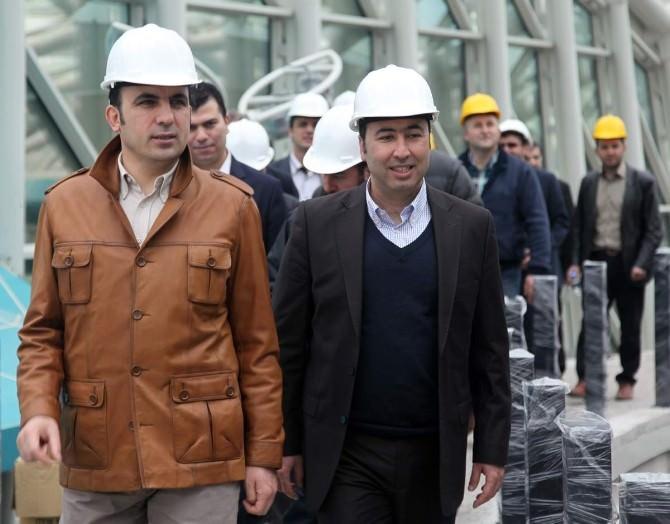 Başkan Altay'dan Hizmet Tanıtım Gezisi
