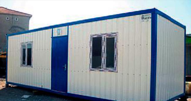 Çadır yerine 103 konteynır geliyor