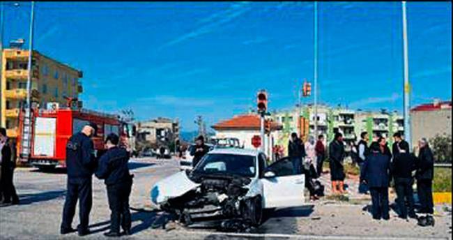 Manisa'daki kazada 7 kişi yaralandı