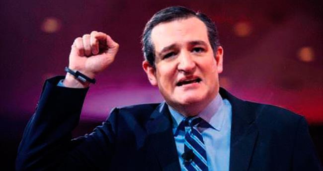 Cumhuriyetçilerin ilk adayı: Ted Cruz