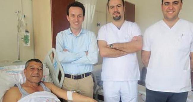 Prostat kanserinden robotik ameliyatla kurtuldu