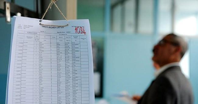 Seçmen listeleri 27 Mart'a kadar askıda kalacak