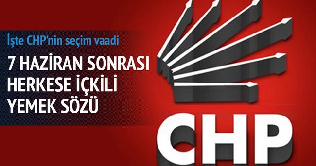 CHP'li Başkandan partililere içkili yemek sözü