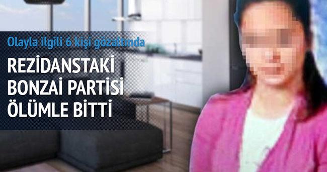 Rezidanstaki uyuşturucu partisi ölümle bitti