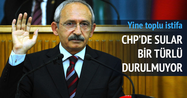CHP'de bir toplu istifa daha