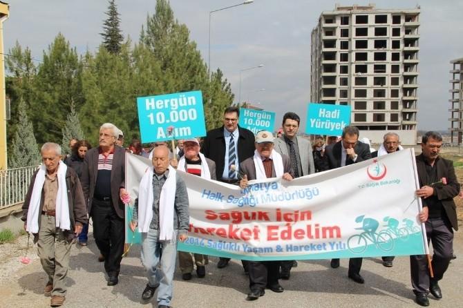 18-24 Mart Yaşlılar Haftası Yürüyüş Etkinliği