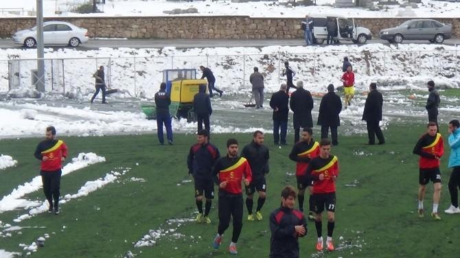 1.amatör Küme Büyükler Futbol Ligi'ne Kar Engeli