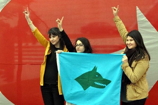 Bolu'da Ülkücüler Nevruzu Kutladı