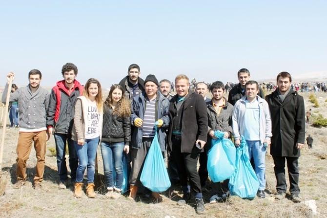 Dinar'ın Afşar Köyünde Ağaç Bayramı Kutlandı