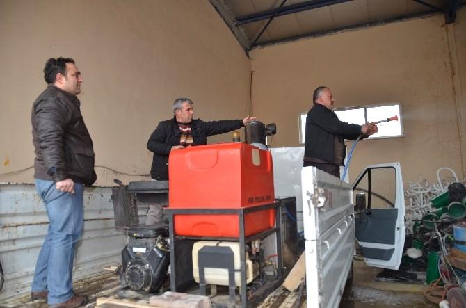 Bilecik Belediyesi Araç Filosuna Çok İşlevli İlaçlama Makinesi De Dahil Edildi