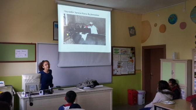 Didim'de Öğrencilere 'Temizlik Ve Hijyen' Eğitimi Verildi