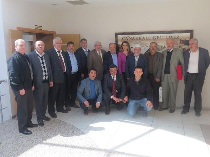 Erzurum Ticaret Borsasından Çanakkale'ye Ziyaret
