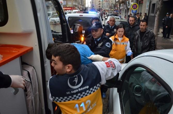 Döner Bıçaklı Saldırganı Polis Ekipleri Etkisiz Hale Getirdi