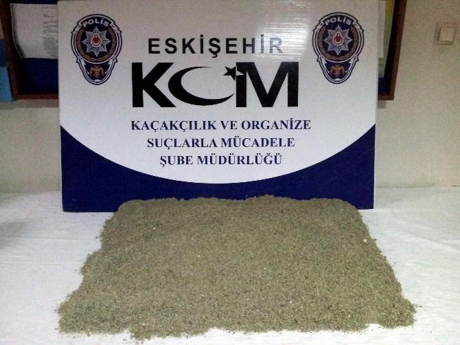 Eskişehir'de 4 Kilo 529 Gram Bonzai Ele Geçirildi