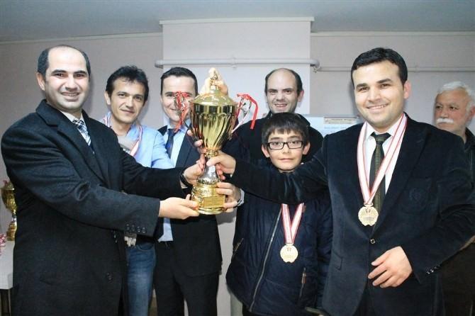 Karaman'da Kurumlararası Satranç Turnuvası Sona Erdi