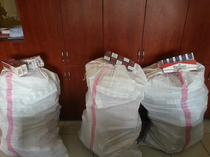 Kırıkhan'da 2 Bin 500 Paket Kaçak Sigara Ele Geçirildi