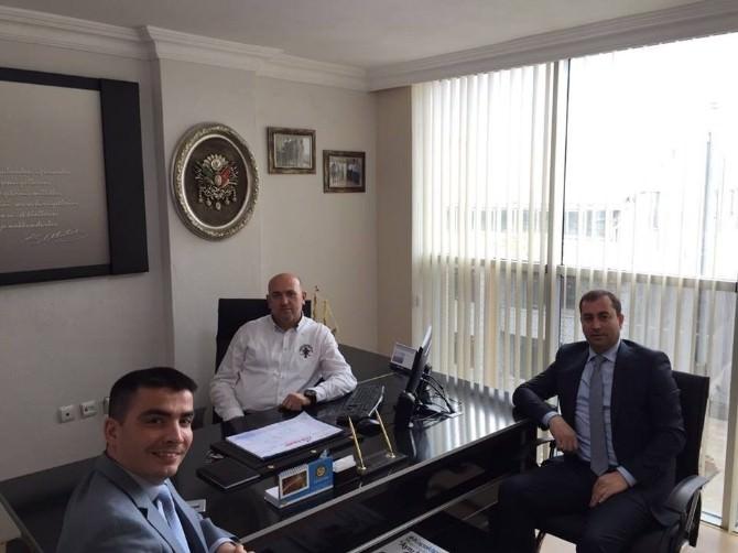 İng Bank'tan Kapaklı Esnaf Kooperatif Başkanı Dükanlı'ya Ziyaret