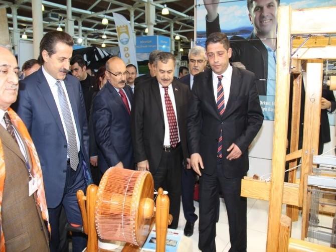 Bakan Eroğlu Ve Bakan Çelik Feshane'de Burdur'u Ziyaret Etti
