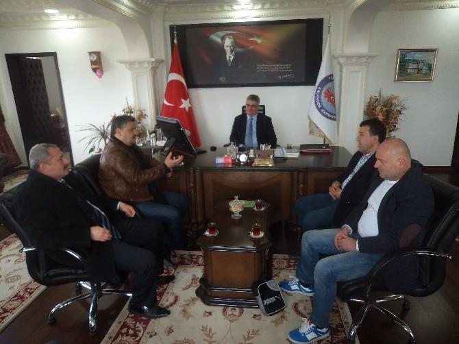 Kosova'dan Kaymakam Pekmez'e Ziyaret