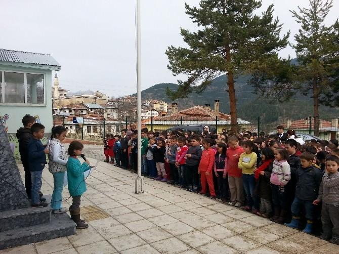 Küre Cumhuriyet İlkokulu Orman Haftası Etkinliği Düzenledi