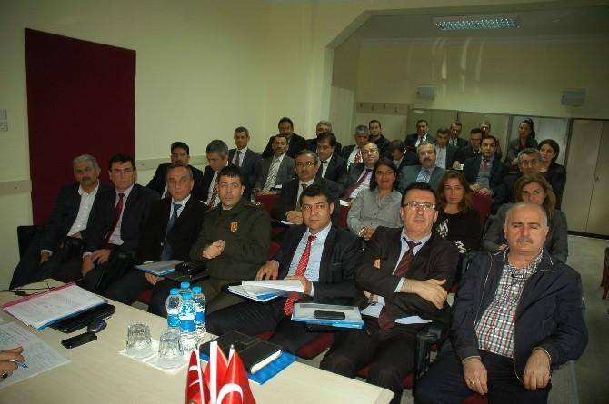 Manavgat İlçe Koordinasyon Kurulu Toplandı