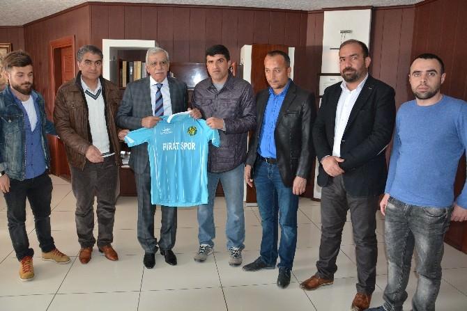 Şampiyon Fıratspor'dan Eşbaşkan Türk'e Ziyaret