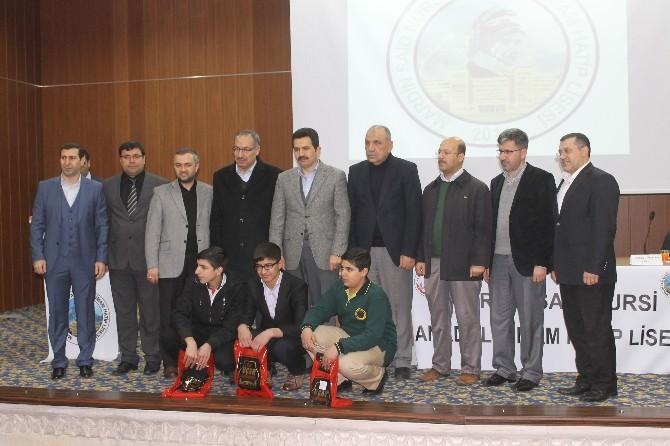 Mardin'de Ezanı Güzel Okuma Yarışması Yapıldı
