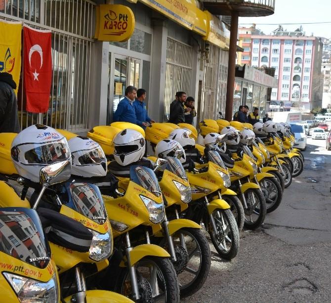 Kahramanmaraş PTT Araç Filosunu Genişletti