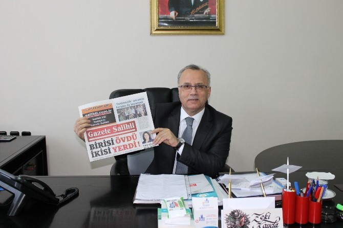 Gazete Salihli'den 'Merhaba' Ziyaretleri