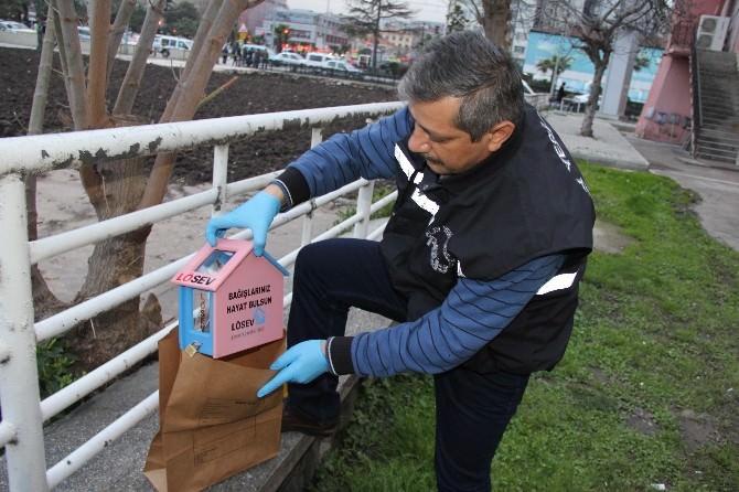 Hırsız LÖSEV'in Bağış Kutusunu Çaldı