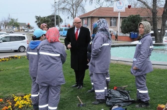 Süleymanpaşa Belediye Personeline Başkan Motivasyonu