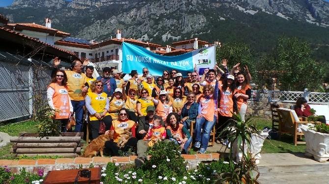 TEMA Üyeleri Akyaka'da Dünya Su Günü Etkinliği Düzenledi