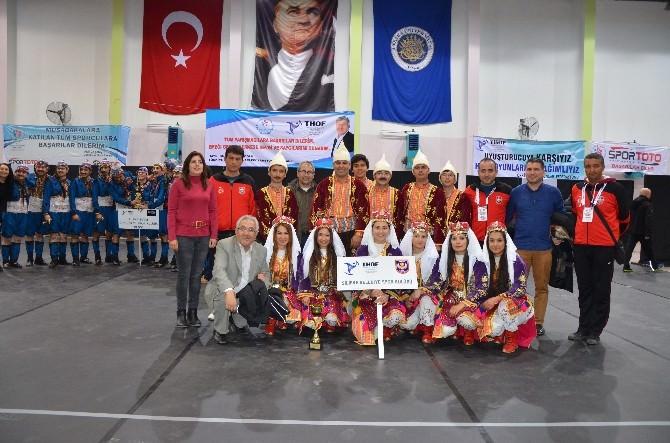 Silifke Belediyesi Halk Oyunları Ekibi Finalde