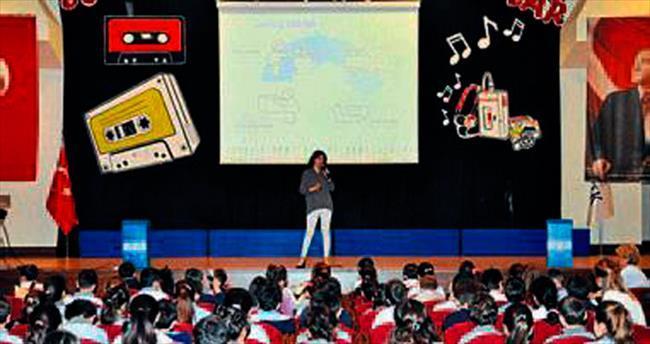 Öğrencilere çevre bilinci anlatıldı