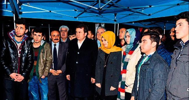 Çanakkale kafilesini Başkan Erkoç uğurladı