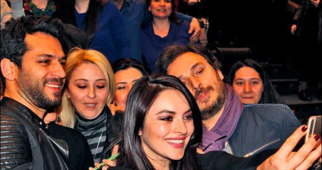 'Kocan Kadar Konuş' ekibi Ankara'daydı