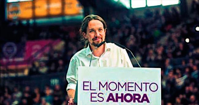 Sol parti Podemos 3'üncü oldu
