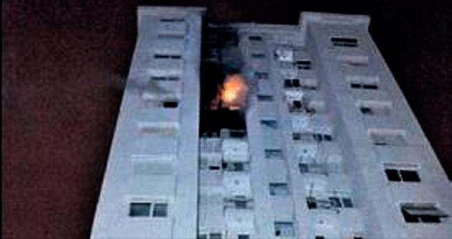 Lüks dairede soba yangını